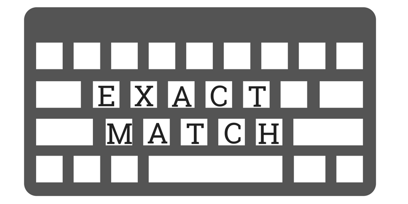 AdWords Exact Match Targeting
